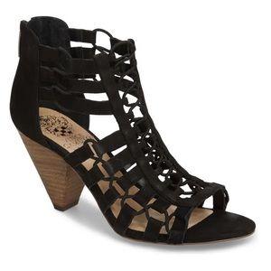Elanso Sandal VINCE CAMUTO Black Heels